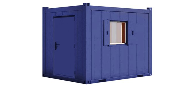 Secure Drying Room - 10x8
