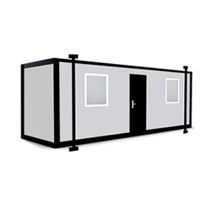 16 x 10 Jackleg Cabin - Portable Cabin with Jacklegs