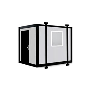 10x8 Jackleg Cabin - Portable Cabin with Jacklegs