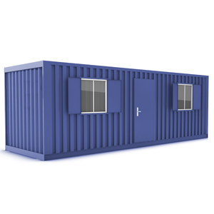 Anti Vandal Cabin - Combination - Secure Canteen & Secure Drying Room
